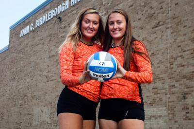 Volleyball strengthens Loy twins' bond