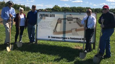 Ground broken at site of fort replica