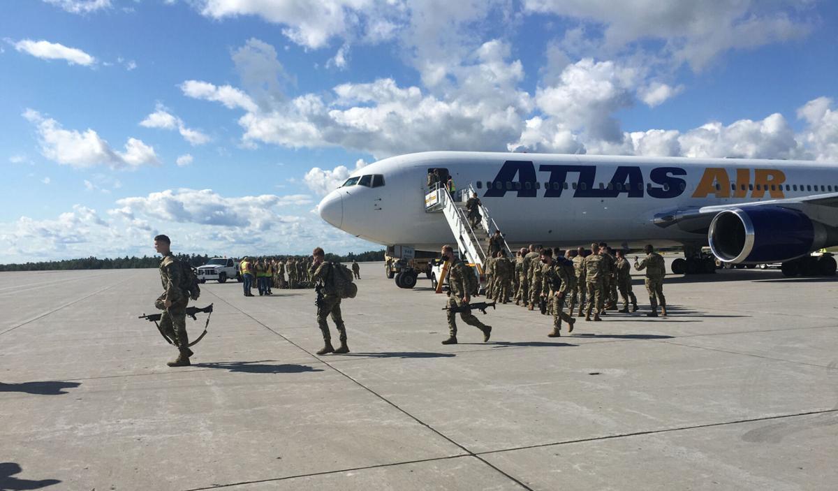 Fort Drum soldiers return to celebration