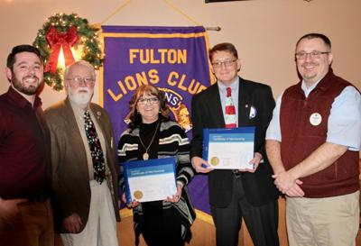 Fulton Lions induct Avery, Devendorf
