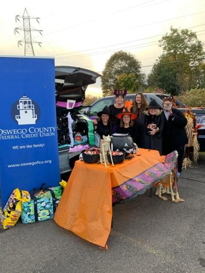 Oswego County FCU sponsors grand prize at 'SAFE Trunk Or Treating Night'