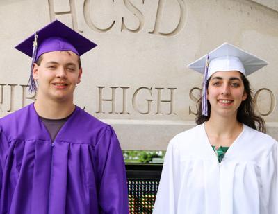 Hannibal High School valedictorian and salutatorian