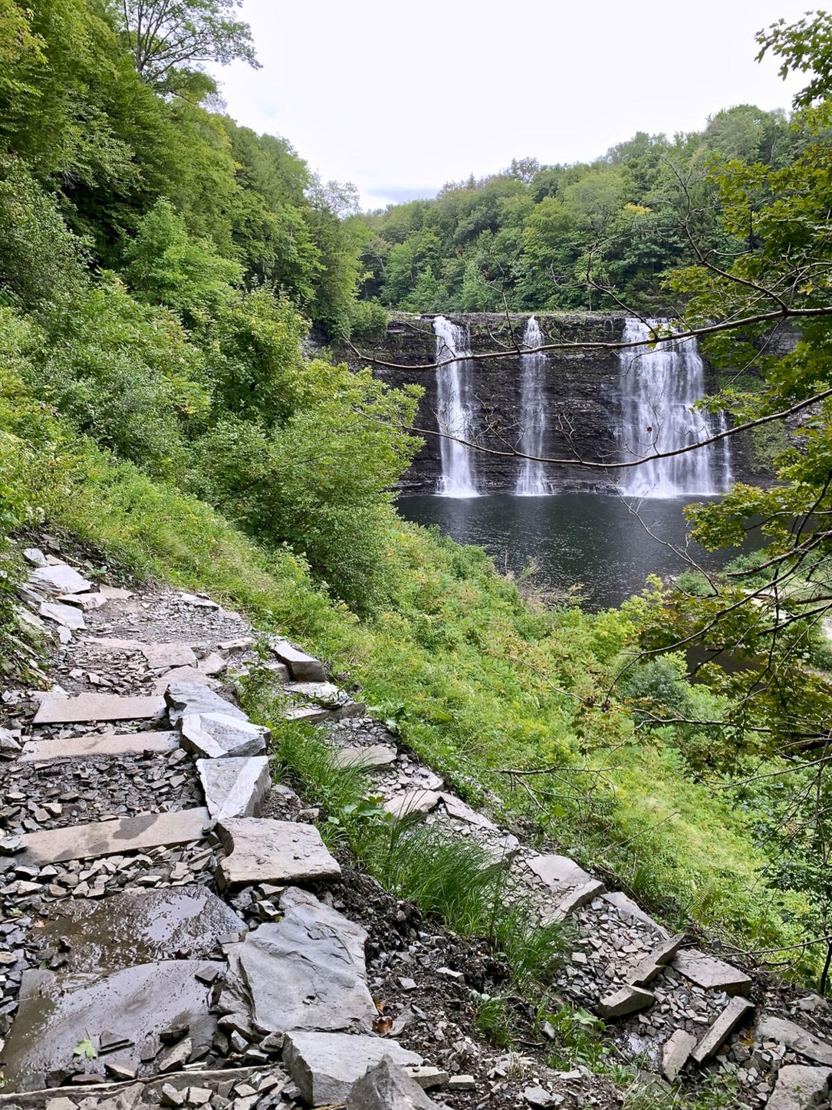 Salmon River Falls Gorge Trail reopened; still a demanding hike