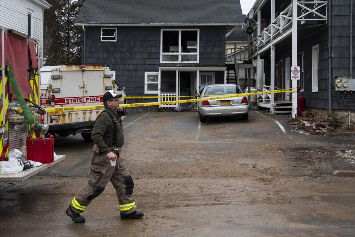Police investigate suspicious fire in Alex Bay; two people displaced