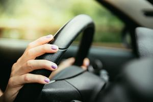 How to clean a steering wheel.