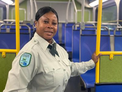 Superhero bus driver helps to save another life