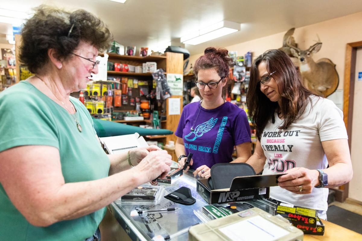 Gun sales surge prior to business closures