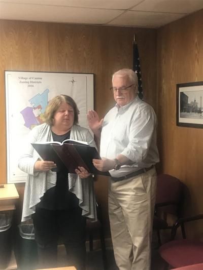 Canton swears in mayor, trustees