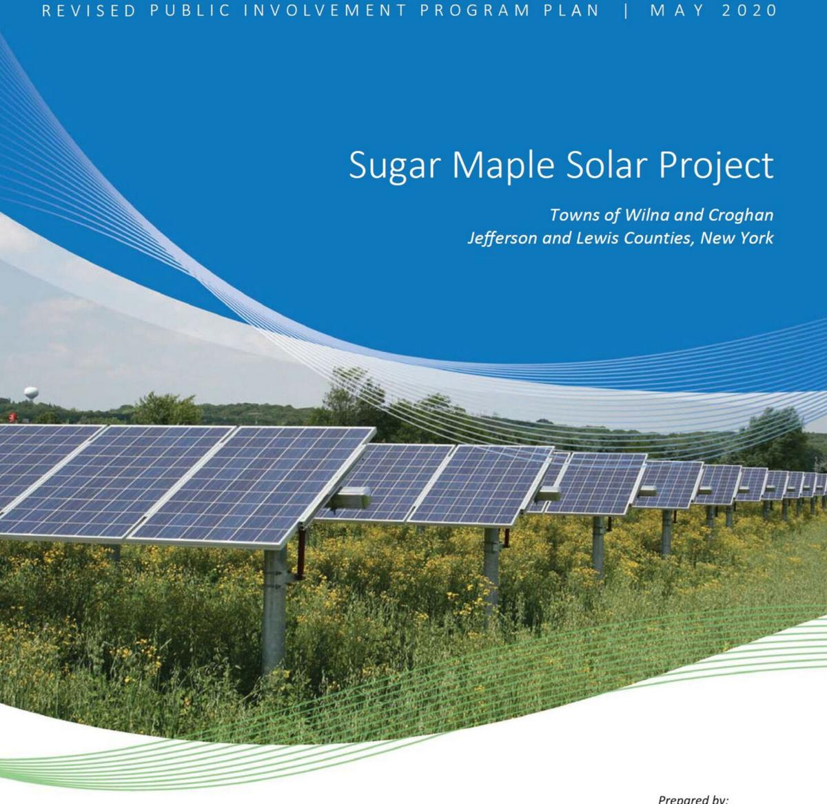 Public forum planned for solar project