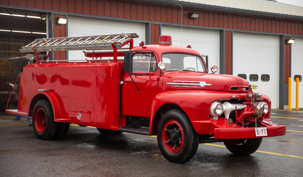 1952 truck returns to town fire department