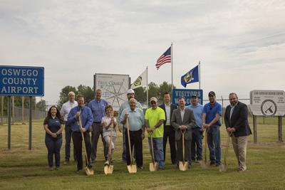 Community partners break ground on wastewater project in Volney