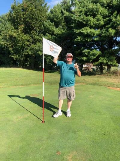 Klebs hits hole in one