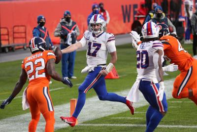 Bills crush Broncos, clinch first AFC East title in 25 years