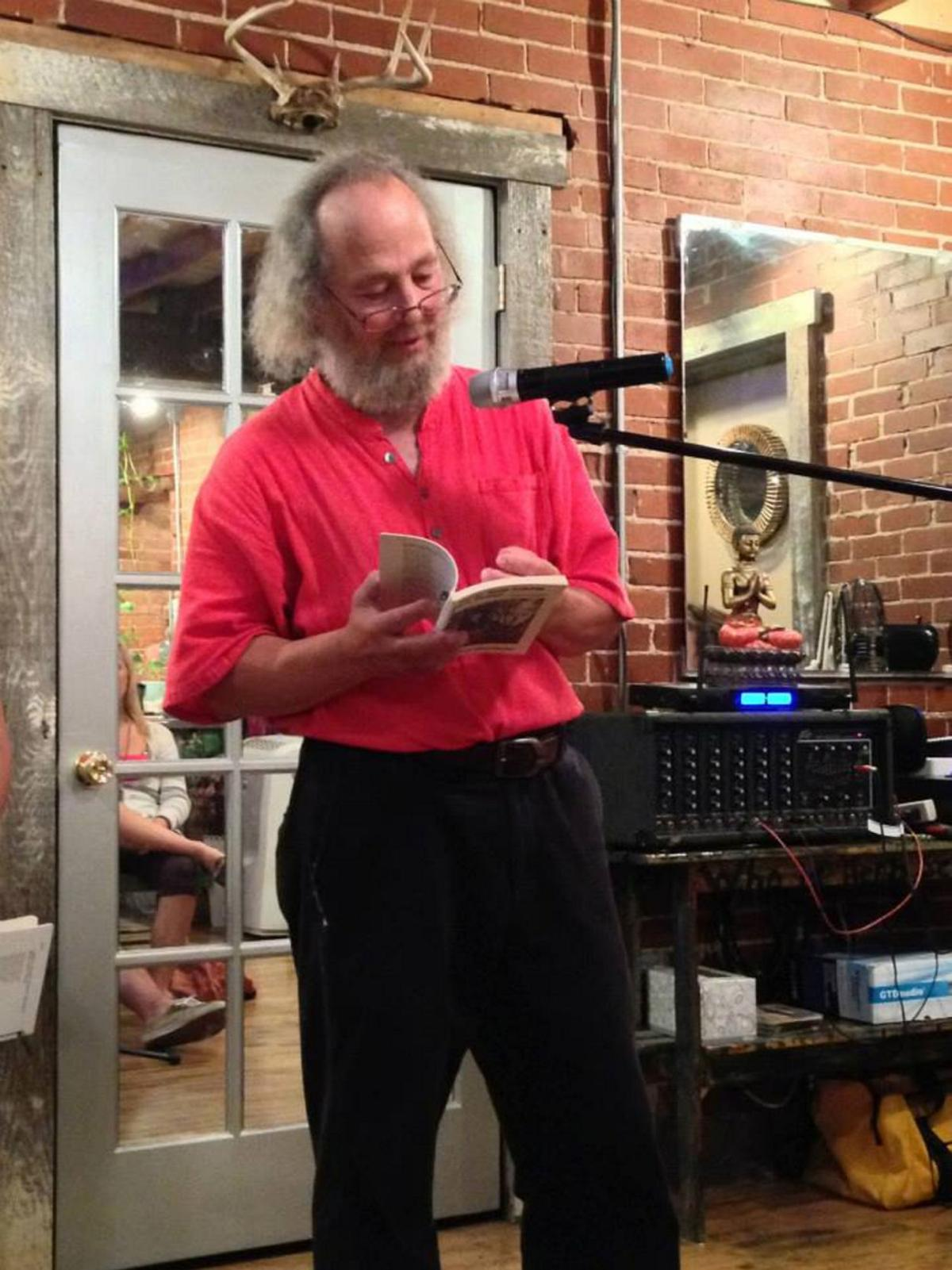 Poet begins Route 11 adventure; may pen book