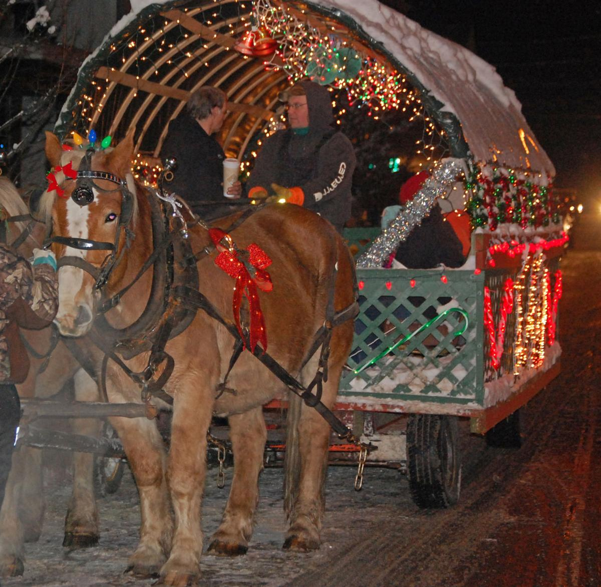 Christmas Parade 2020 Croghan Ny New community tree marks Christmas magic in Croghan | Top Stories