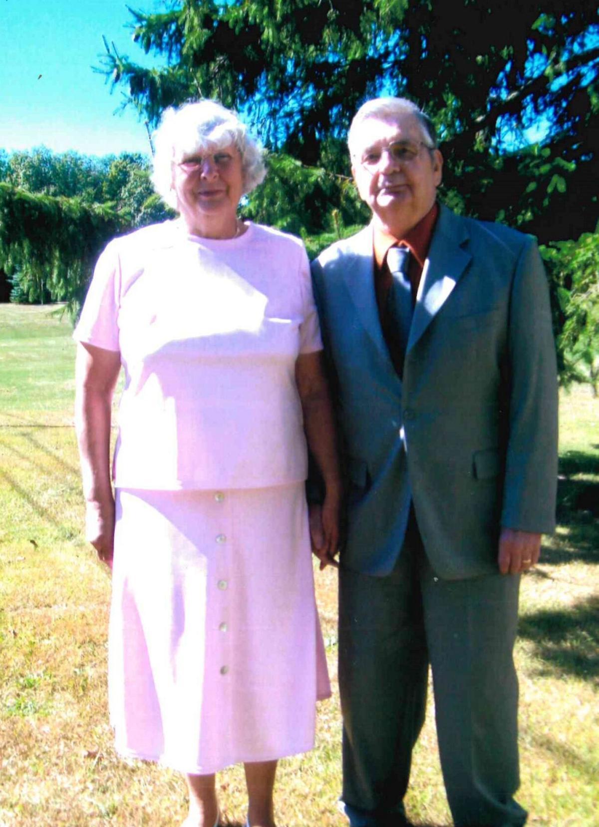 Earl and Sandra Nicholson, 60 years