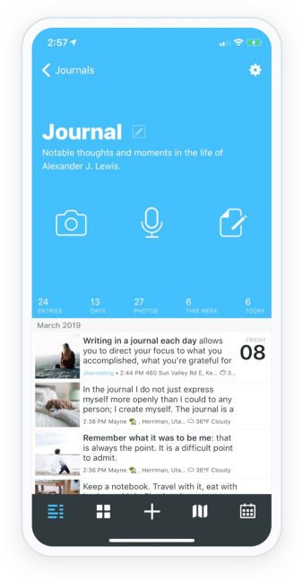 Why a digital diary will change your life