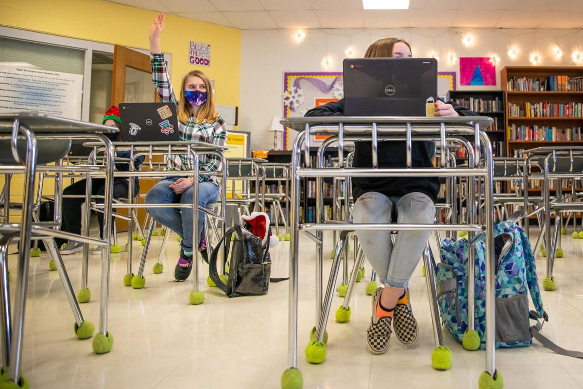 N.Y. eases classroom distancing rules