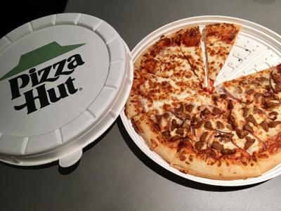 Pizza Hut thinks outside the (square) box