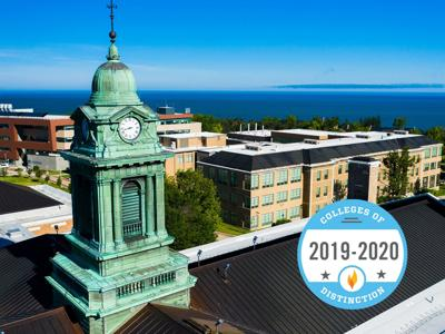 SUNY Oswego honored again among national Colleges of Distinction