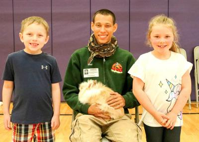 'Zoo Crew' visits Fairley kindergartners