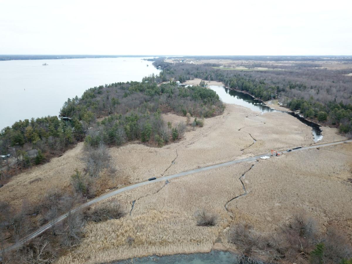 Water flow through wetlands restored