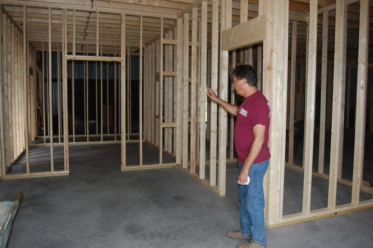 Food pantry construction nearing completion