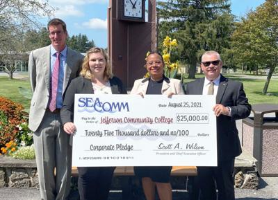SeaComm donates $25,000 to establish JCC Endowed scholarship
