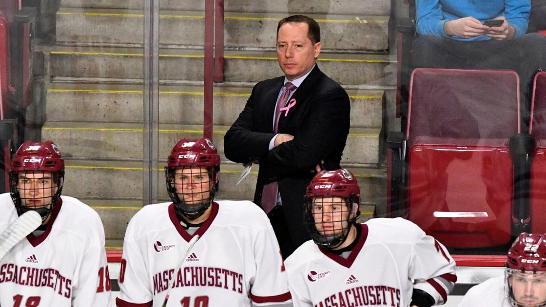College men's hockey: Canton's Carvel returns UMass to Frozen Four for second time