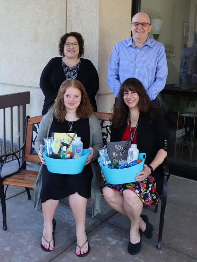 Girl Scout donates to OCO Arbor House
