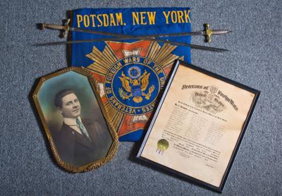 VFW donates artifacts to Potsdam Museum