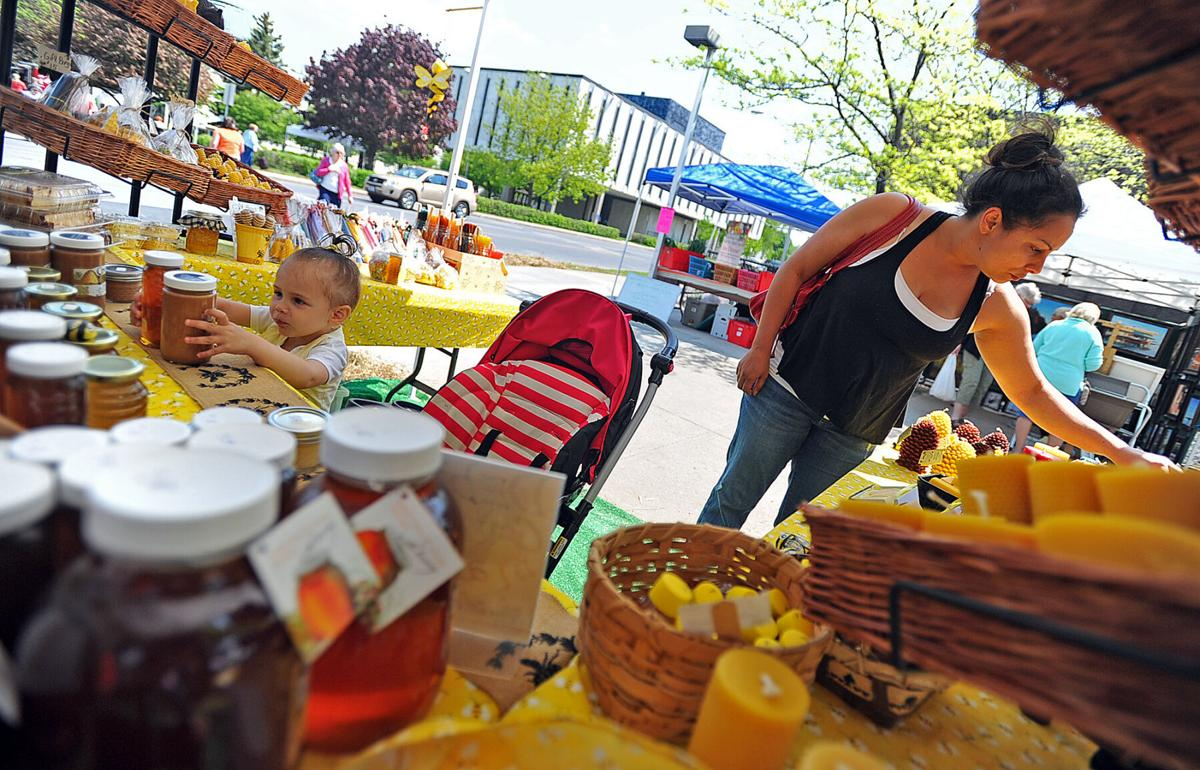 Farm, craft market returns today