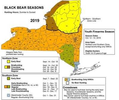 Hunters begin black bear, Canada goose hunting seasons