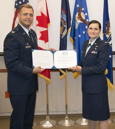 Cleveland resident promoted to captain in Air National Guard