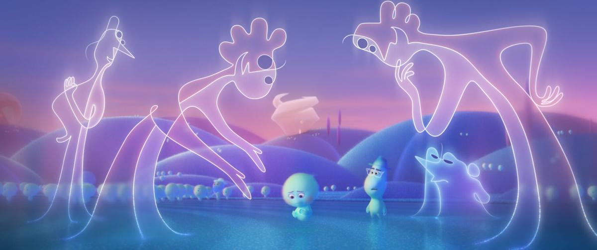How the crew of Pixar's 'Soul' designed a kid-friendly afterlife