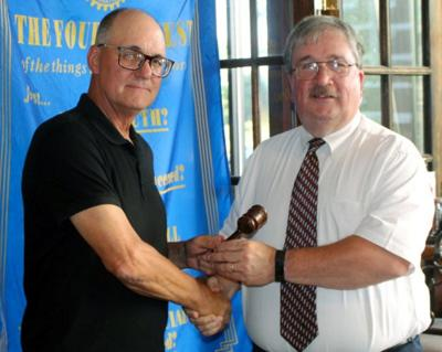Todd assumes mantle as president of Rotary Club