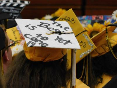 Spartans gather for graduation CLASS OF 2019: Valedictorian encourages leaving positive footprints through life