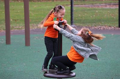 Maroun Elementary unveils renovated Karen E. Cusenz Memorial Playground