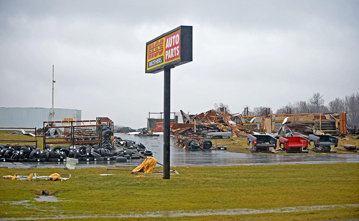 It looked like a war zone    ' storm: Meteorologists think