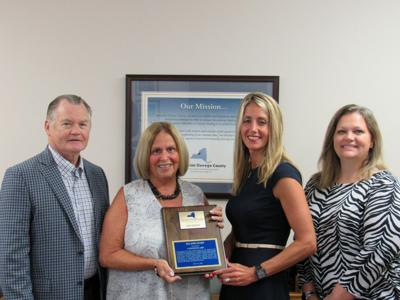Operation Oswego County presents award to Connextcare