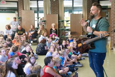 Volney elementary welcomes message of positivity