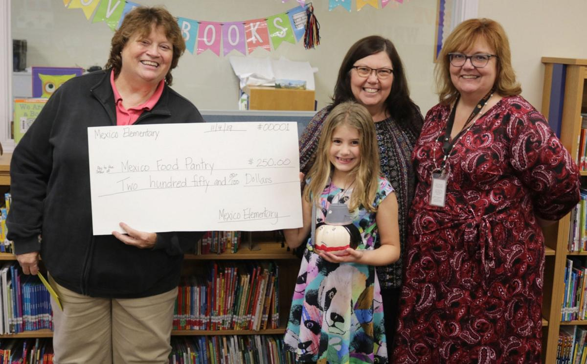 Mexico Elementary students raise hundreds for local food bank