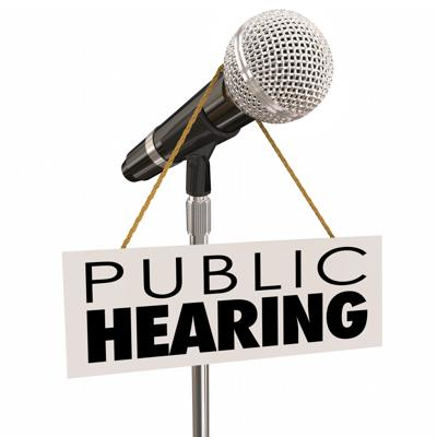 Public Hearing Information Meeting Share Opinion Feedback