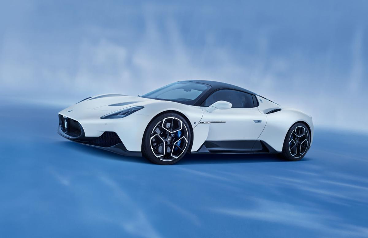 With the new MC20, Maserati throws down a super car challenge
