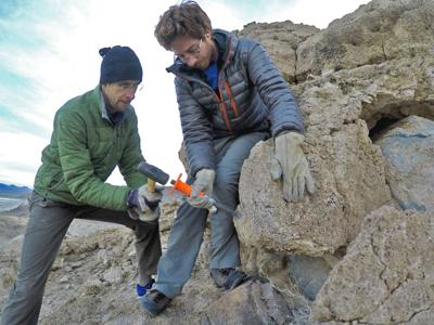 SUNY Oswego faculty, students part of effort studying past climate changes in Death Valley, Mohave Desert