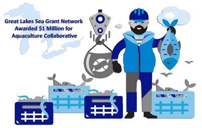 $1 million Great Lakes Aquaculture Collaborative includes NY Sea Grant