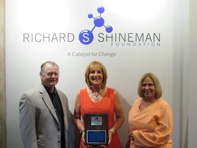 Operation Oswego County presents award to The Richard S. Shineman Foundation