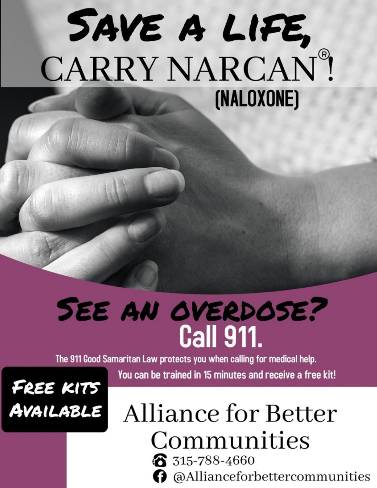 Agencies joining forces on Narcan messaging