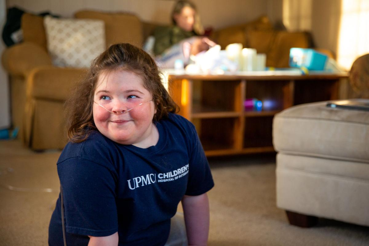 STRAIGHT FROM THE HEART Donations, fundraisers help girl facing daunting health problems