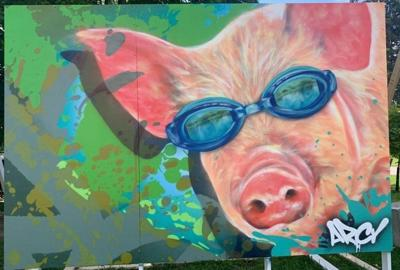 Lewis County fair board auctioning off murals